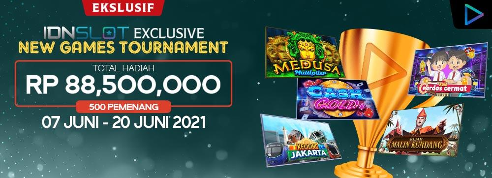 IDNSLOT EXCLUSIVE NEW GAMES TOURNAMENT